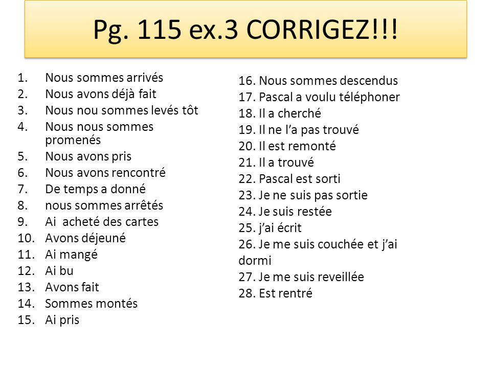 Pg. 115 ex.3 CORRIGEZ!!.