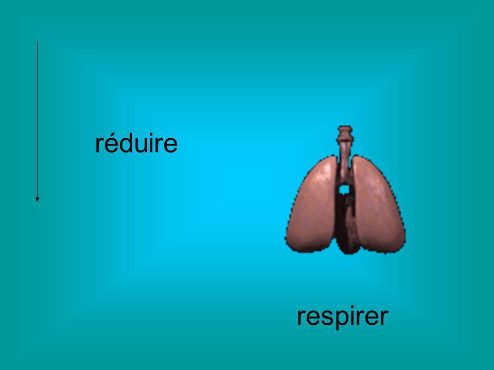 réduire respirer