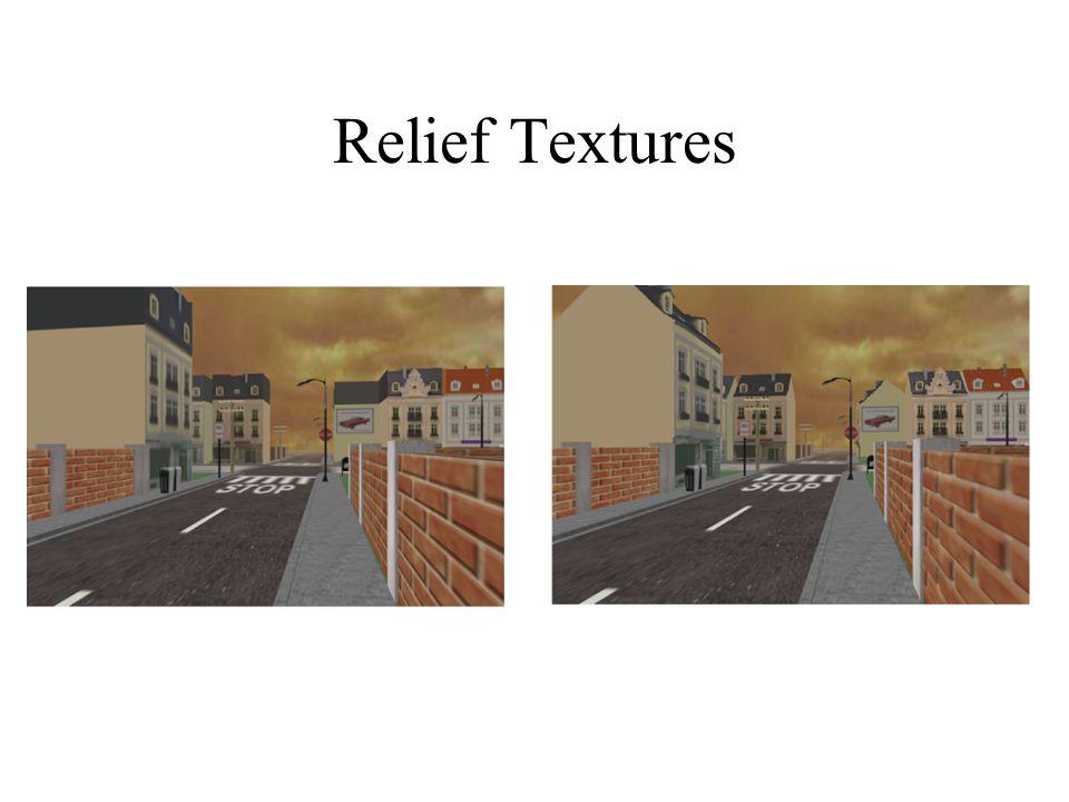 Relief Textures