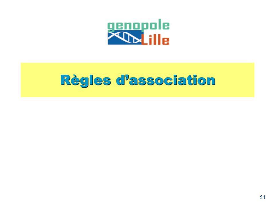 54 Règles dassociation