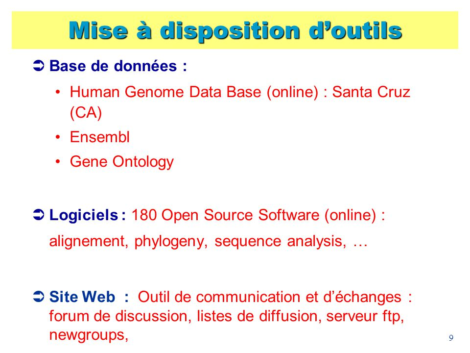 40 Sélection de sondes - XXfrag http://ribosome.genopole-lille.fr/fr/fragments/ Publication : C.