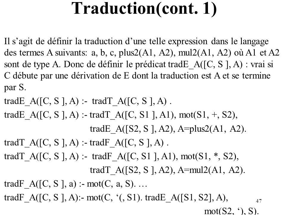 47 Traduction(cont.
