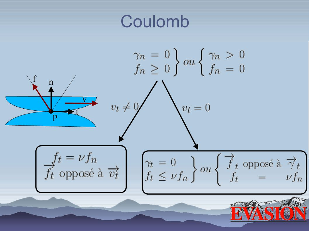 Coulomb n P t f v