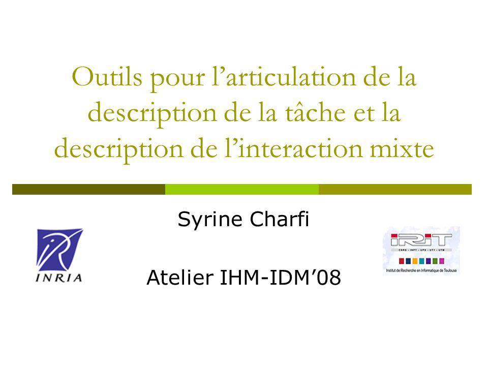 2 SIM : Système Interactif Mixte Fusion du monde physique et du monde numérique