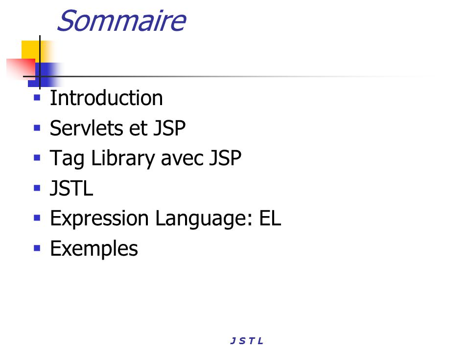 J S T L <sql:transaction [dataSource=dataSource] [isolation=isolationLevel]> and statements isolationLevel ::= read_committed | read_uncommitted | repeatable_read | serializable JSTL SQL Les transactions