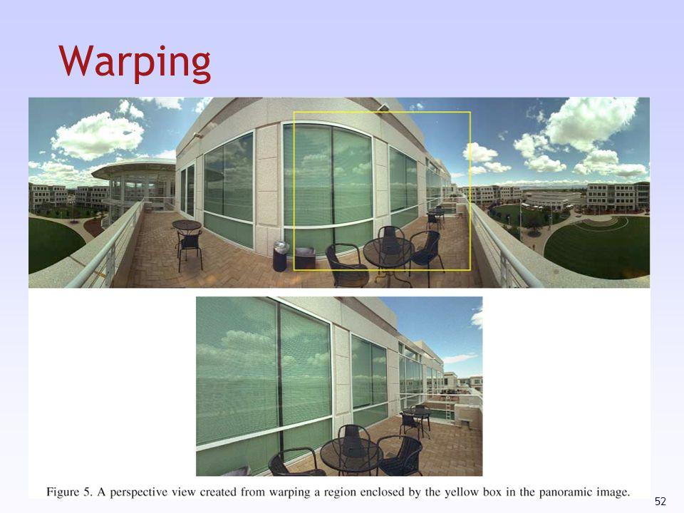52 Warping