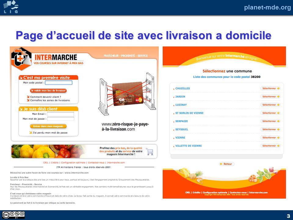 planet-mde.org 3 Page daccueil de site avec livraison a domicile