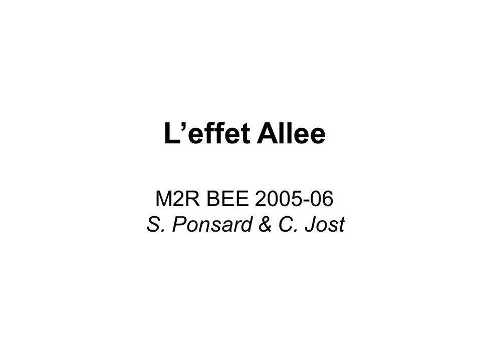 Leffet Allee M2R BEE 2005-06 S. Ponsard & C. Jost