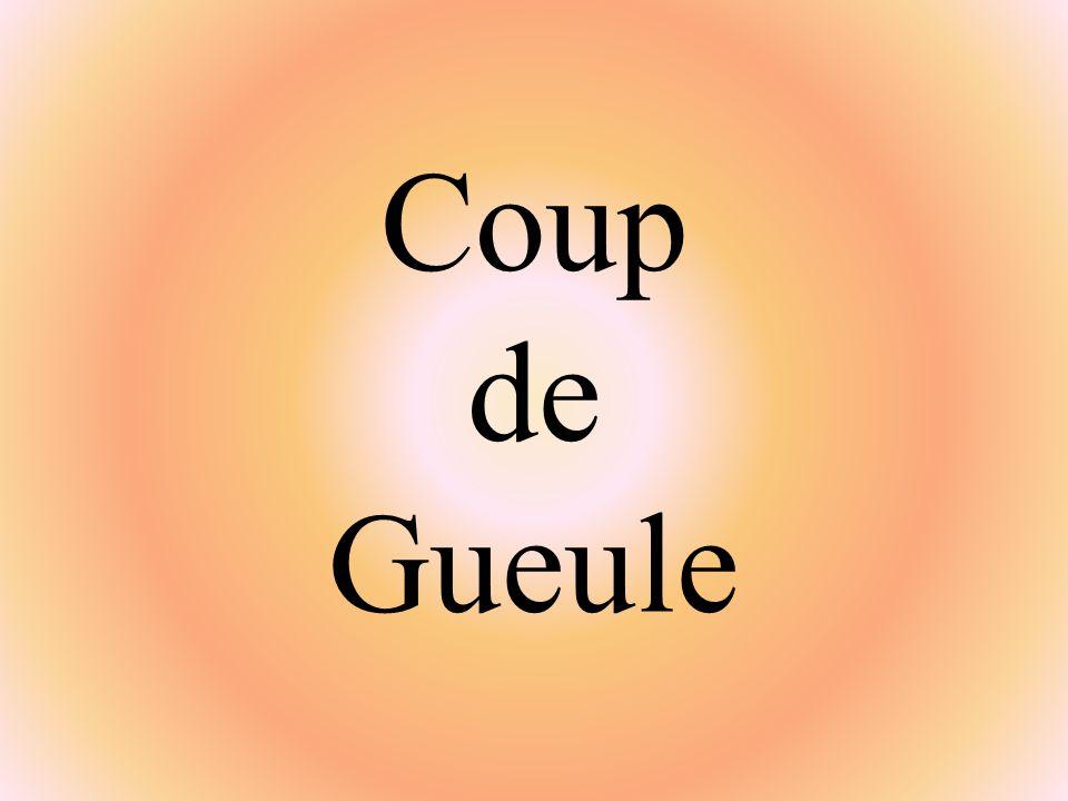 Mercredi 7 mai 2008 SUJET: David Douillet et les pièces jaunes Pièces jaunes : cocus .
