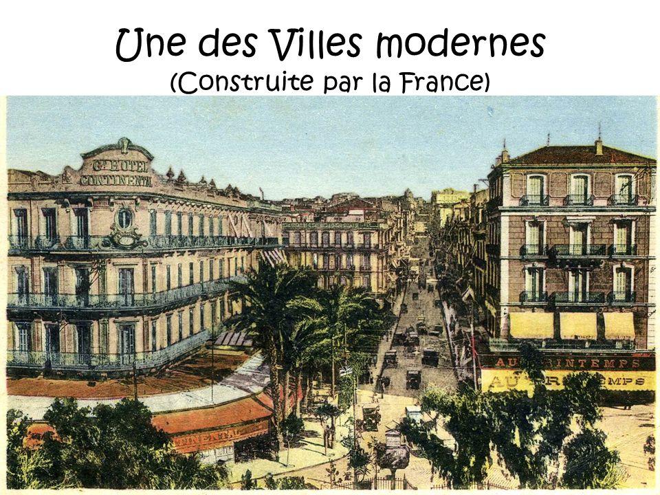 Alors oui, Monsieur HOLLANDE, de tous les peuples qui sont passés en Algérie, seuls les Français ont laissé un bilan positif. Les vandales napportèren
