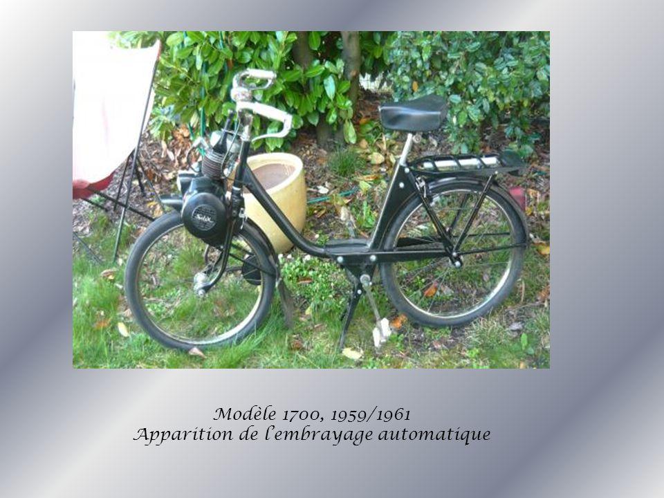 Modèle 1700, 1959/1961 Apparition de lembrayage automatique