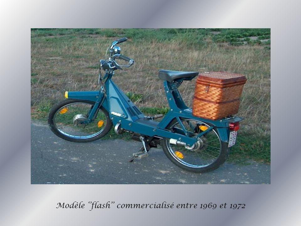 Modèle flash commercialisé entre 1969 et 1972