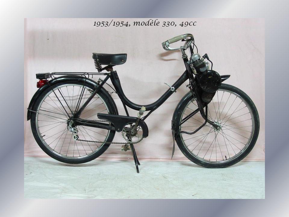 1953/1954, modèle 330, 49cc