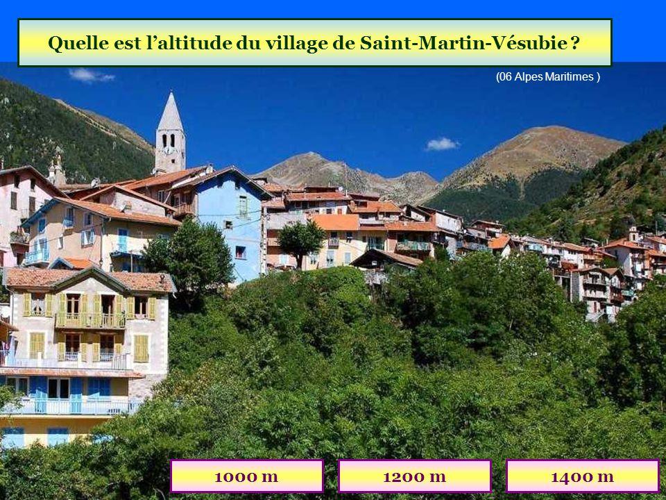 Quel est ce village des Hautes-Alpes ? GuillestreMont-DauphinSaint-Véran (05 Hautes-Alpes)