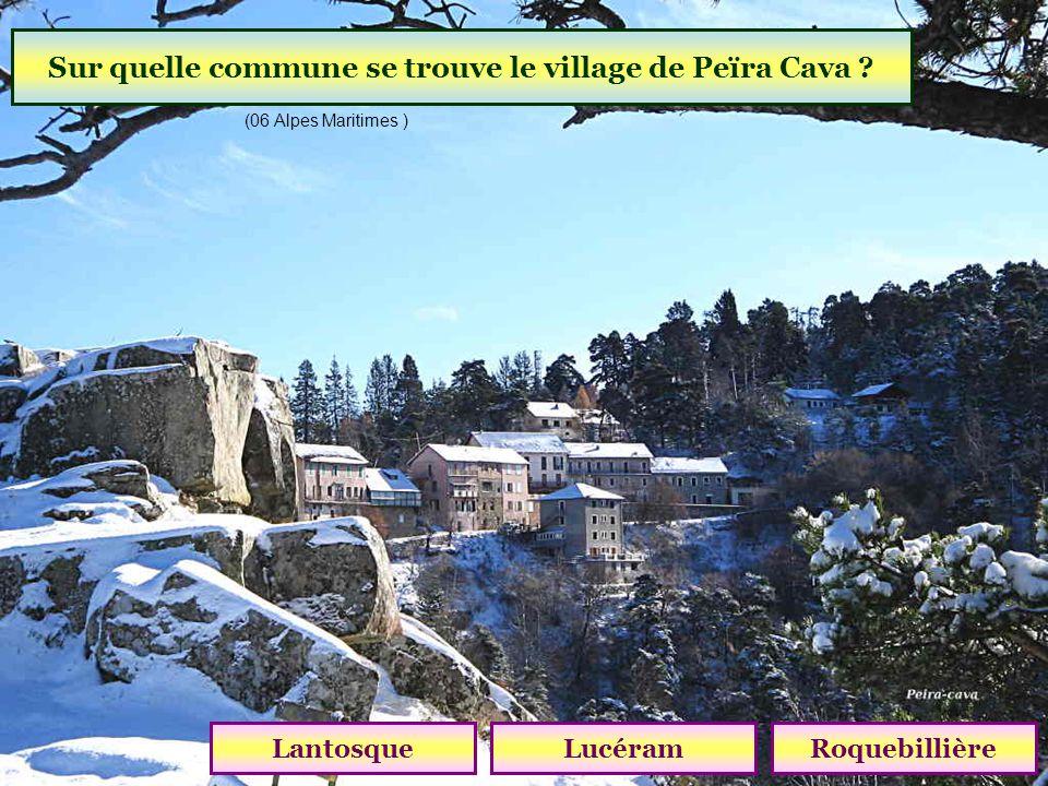 Quelle est laltitude du village de Saint-Martin-Vésubie ? 1000 m1200 m1400 m (06 Alpes Maritimes )
