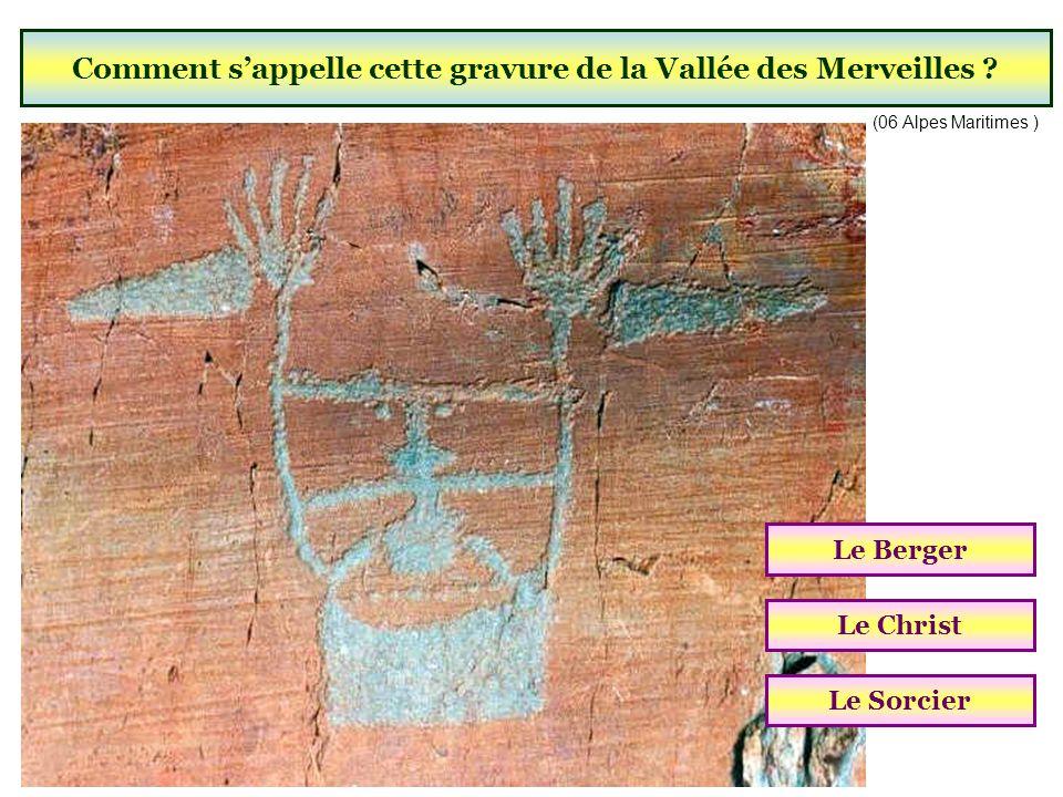 Dans quel département se trouve la Vallée des Merveilles ? (Plus de 40 000 gravures rupestres ) Alpes de Haute-ProvenceAlpes MaritimesHautes Alpes