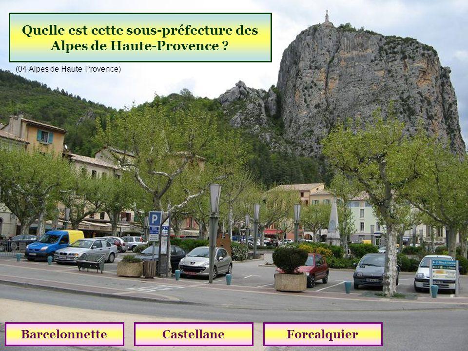 Quel est le plus haut village du Var (1097 m) ? BargèmeCompsTrigance (83 Var )