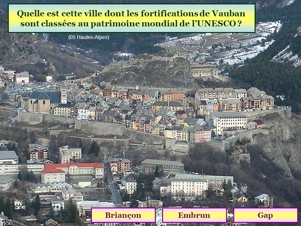 Sur quel cours deau est construit le barrage de Serre-Ponçon ? Durance Var Verdon