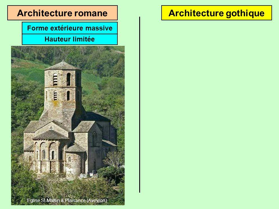 Architecture romaneArchitecture gothique Du Xe au XIIe siècleDu XIIe au XVe siècle Eglise de Rhuis (Oise) Cathédrale de Noyon (Oise)