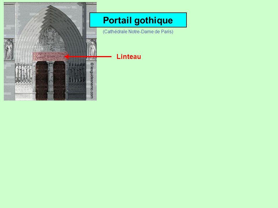 Portail gothiquePortail roman Eglise St-Justin à Louvres (Val-dOise)Cathédrale St-Pierre de Beauvais (Oise)