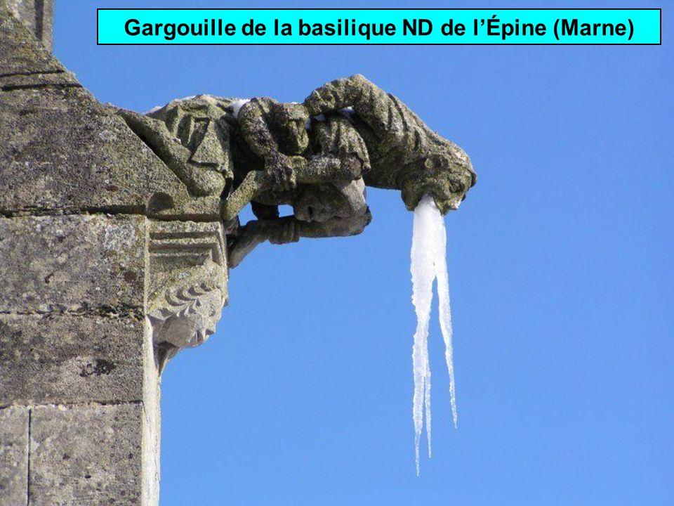 Gargouille: extrémité dune gouttière ornée dune sculpture