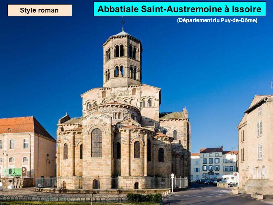 Style roman Basilique Saint-Sernin de Toulouse (Département de la Haute-Garonne)