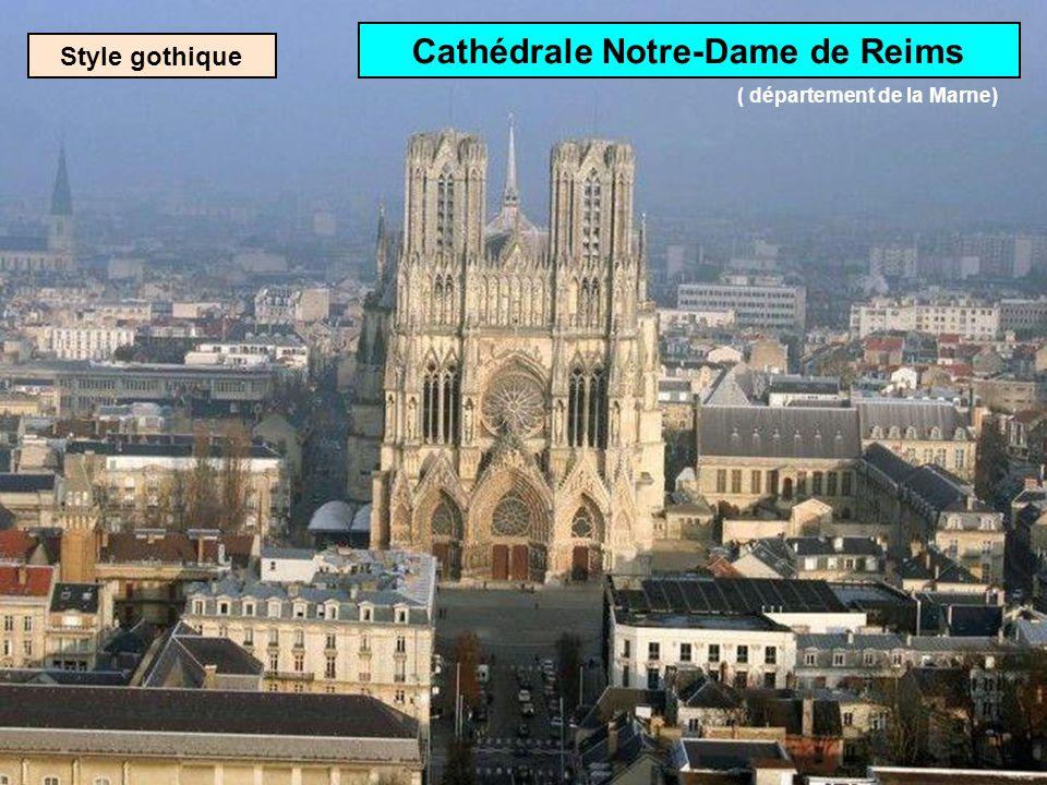 Rosace de la cathédrale dAmiens