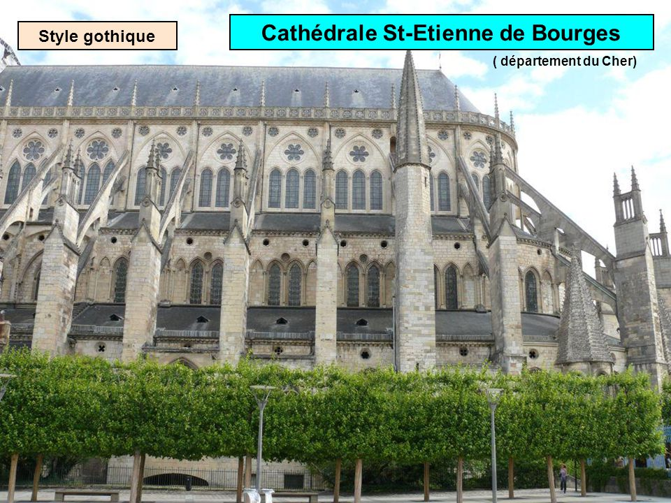 Style gothique Cathédrale Notre-Dame de Reims ( département de la Marne)