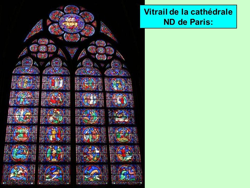 Style gothique Cathédrale Notre-Dame de Paris