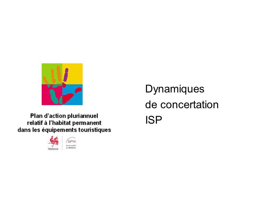 Dynamiques de concertation ISP