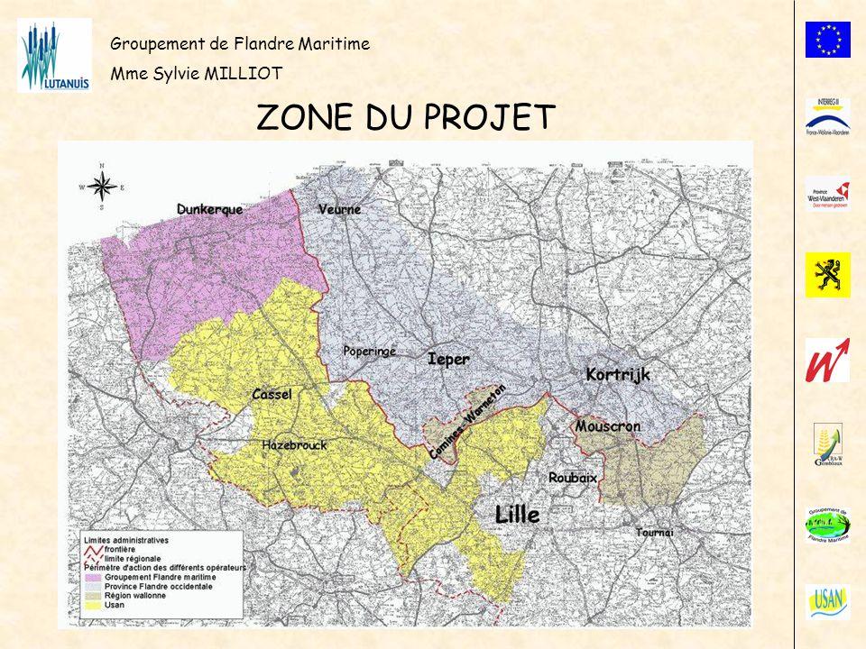 Groupement de Flandre Maritime Mme Sylvie MILLIOT ZONE DU PROJET