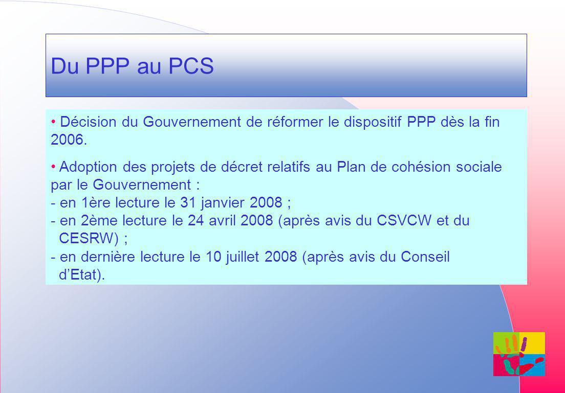 Du PPP au PCS Décision du Gouvernement de réformer le dispositif PPP dès la fin 2006.