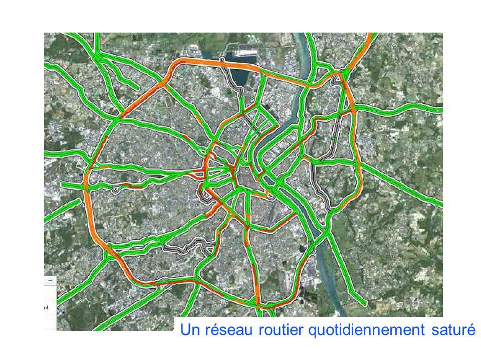 COLLOQUE « COMMUNAUTE DE TERRITOIRE, INTELLIGENCE TERRITORIALE » Vendredi 13 décembre 2013 – Liège Un réseau routier quotidiennement saturé