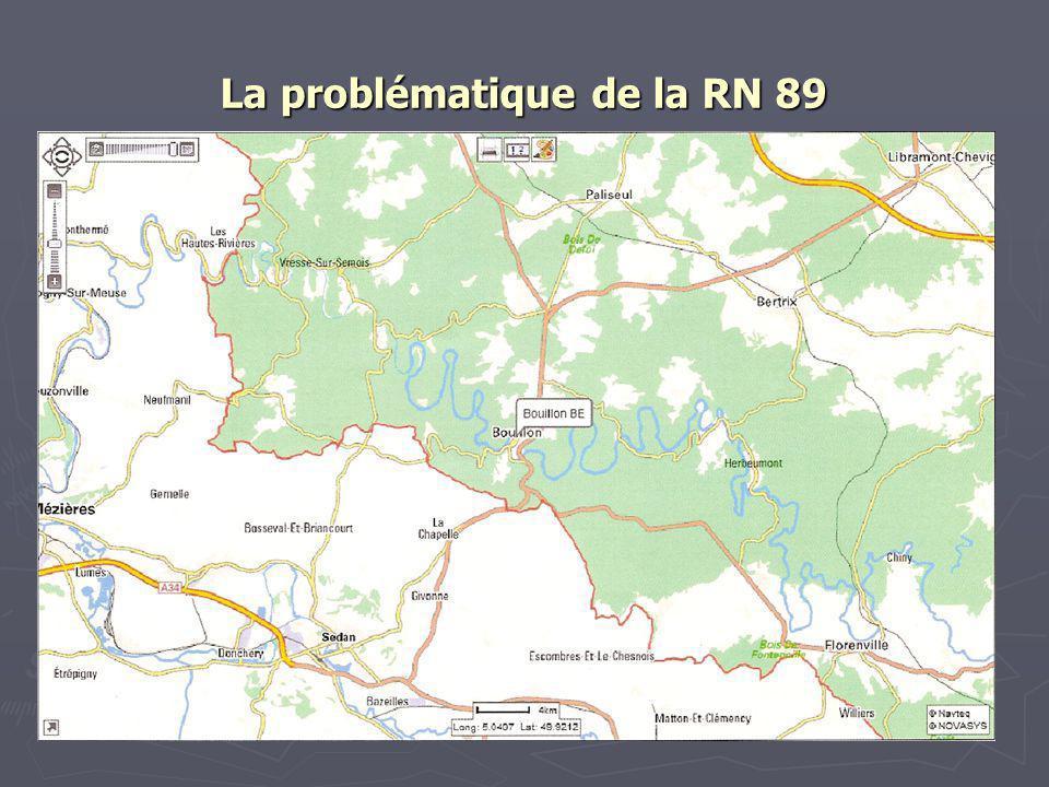 La problématique de la RN 89