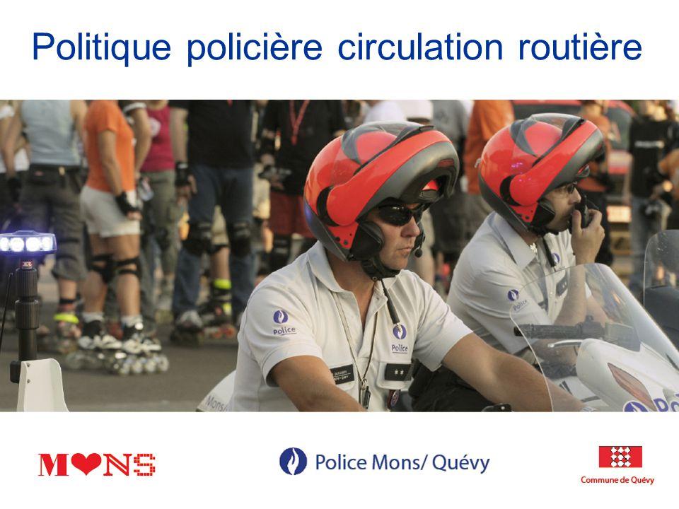 Plan PNS Leviers du PZS Approche intégrale et intégrée PZS Analyse minutieuse des accidents Projets développés avec le fonds de sécurité routière Organisation interne du service circulation Organisation externe : le partenariat