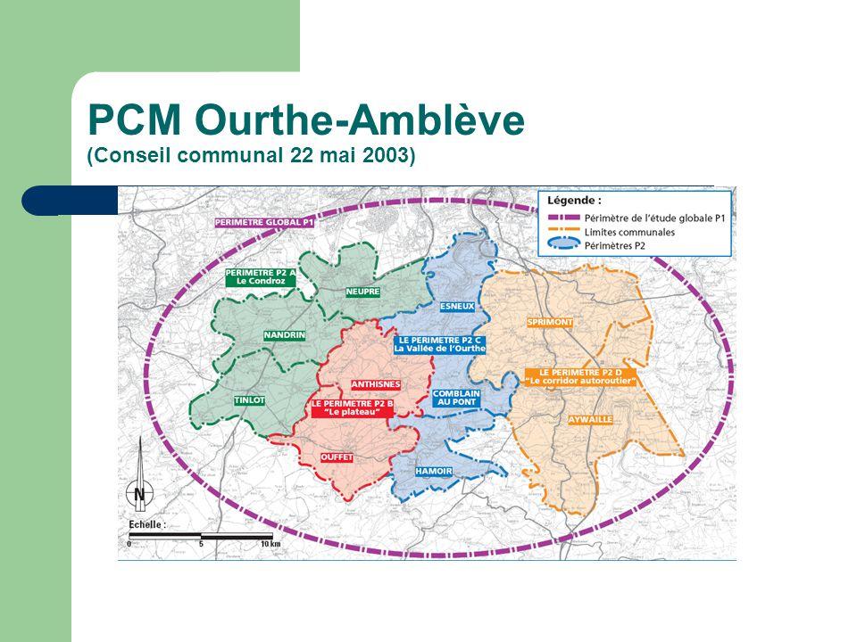 PCM Ourthe-Amblève (Conseil communal 22 mai 2003)
