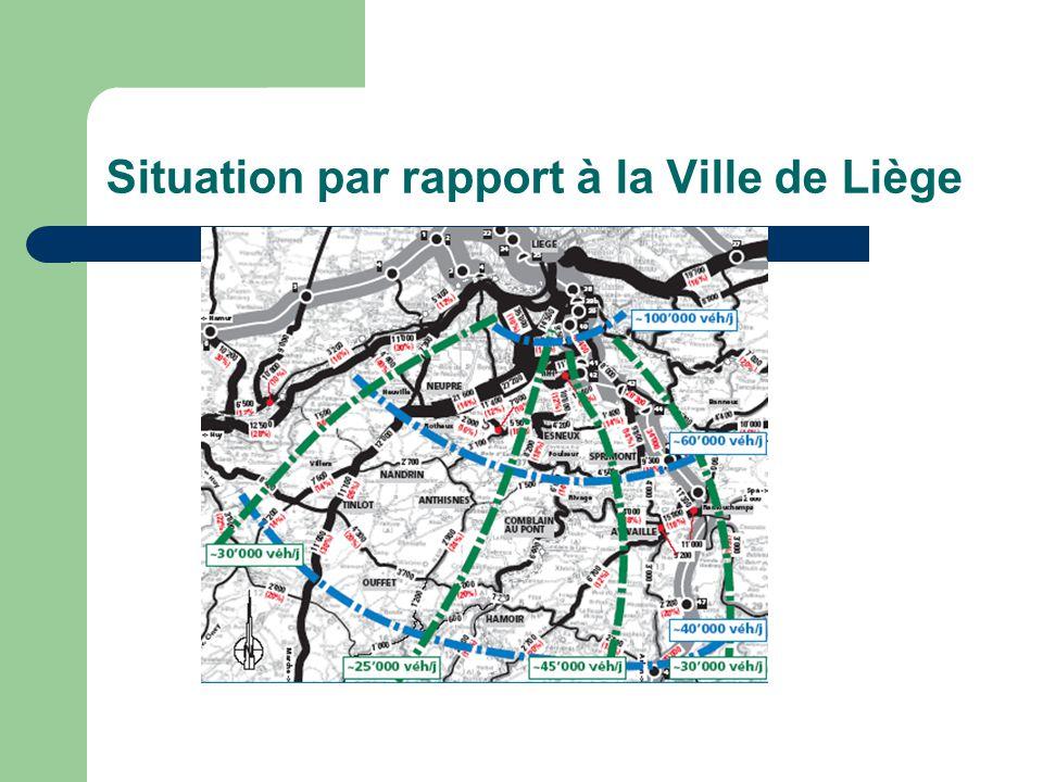 Réalisation de trottoirs à Warzée via les crédits dImpulsion : RW à Warzée - Liaison hors agglomération en site propre.