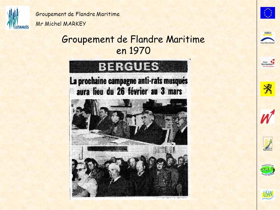 Groupement de Flandre Maritime Mr Michel MARKEY Carte de la Flandre Maritime