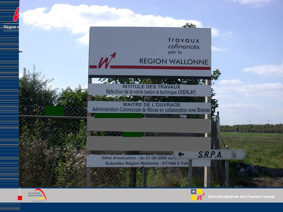 Direction générale des Pouvoirs locaux Région wallonne La désignation de lauteur de projet Le plus souvent : procédure négociée sans publicité Concurr