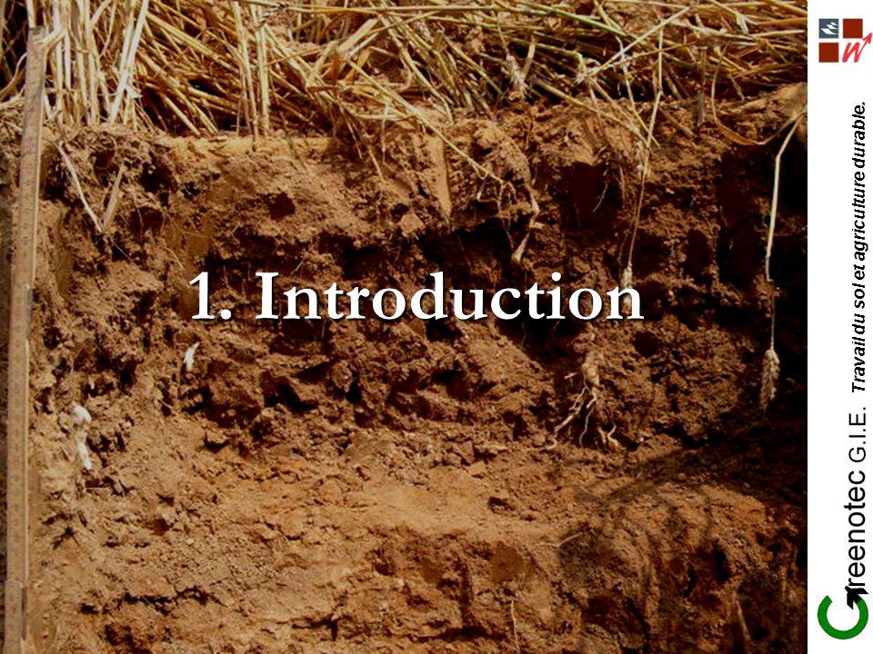 Travail du sol et agriculture durable. 1. Introduction