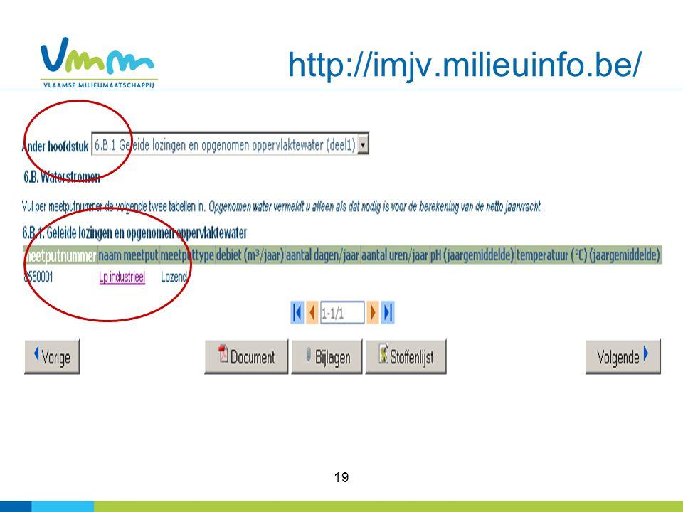 19 http://imjv.milieuinfo.be/