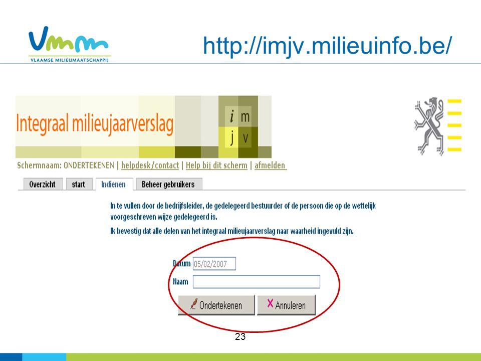 23 http://imjv.milieuinfo.be/