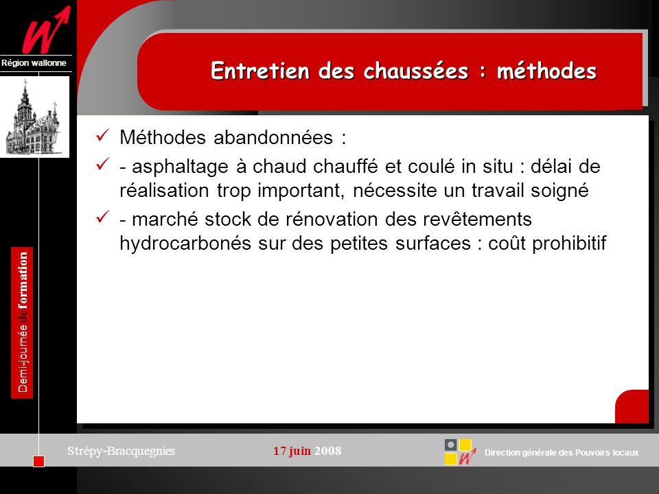 Direction générale des Pouvoirs locaux Région wallonne Demi-journée de formation Strépy-Bracquegnies17 juin 2008 Renouvellement annuel