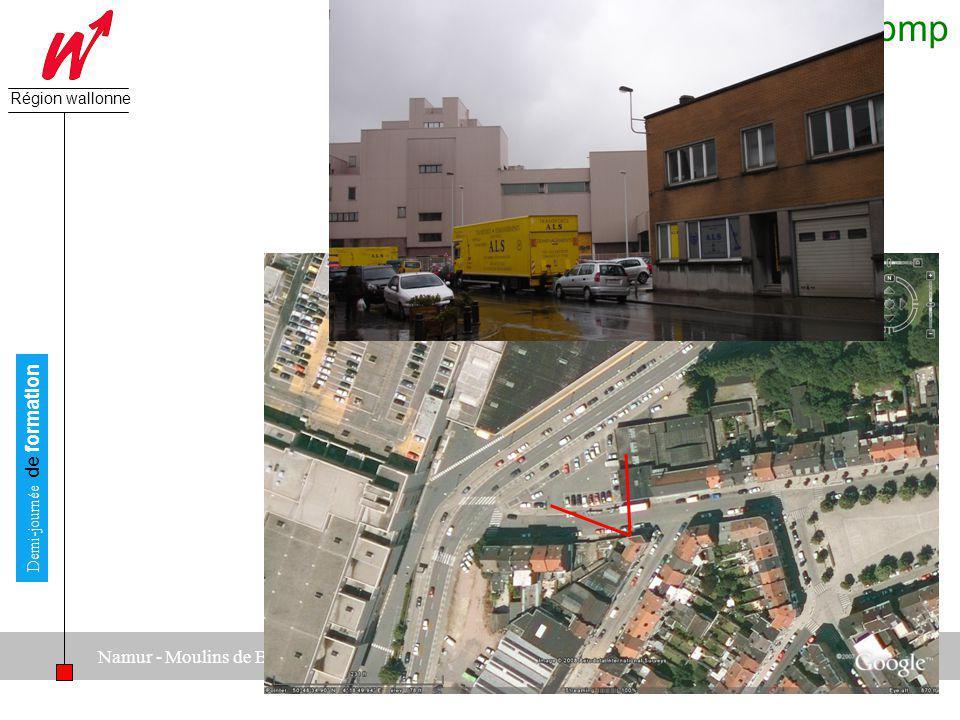 A2M - pmp Direction générale des Pouvoirs locaux Région wallonne 25 juin 2008 Demi-journée de formation Namur - Moulins de Beez