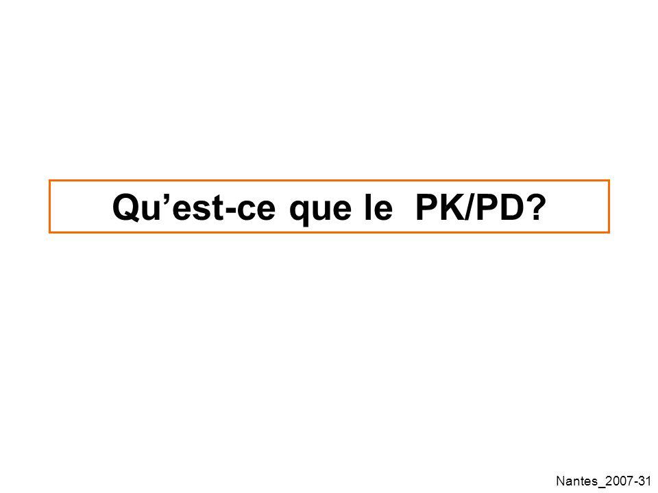 Nantes_2007-31 Quest-ce que le PK/PD?