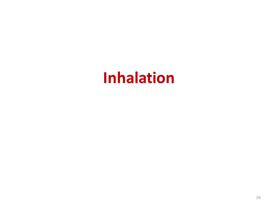 Inhalation 38