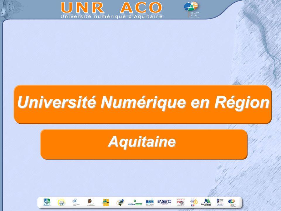 Université Numérique en Région Aquitaine