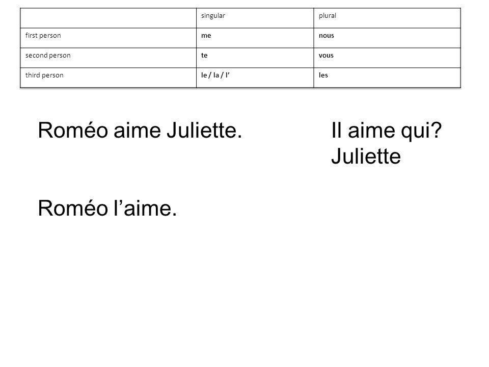 Juliette Roméo laime.