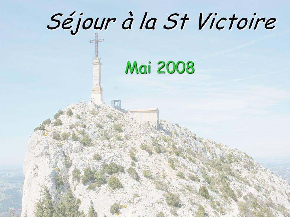 Séjour à la St Victoire Mai 2008
