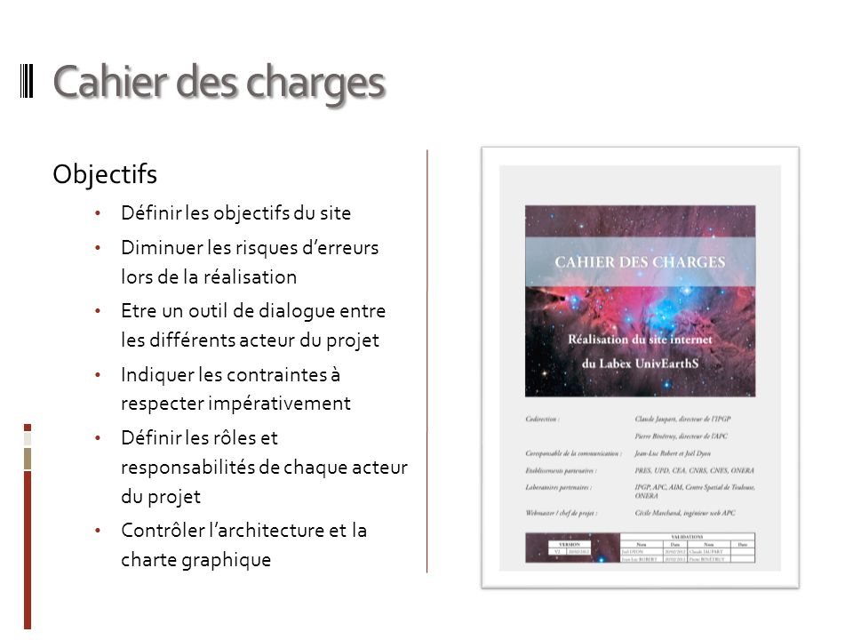 Cahier des charges 3.